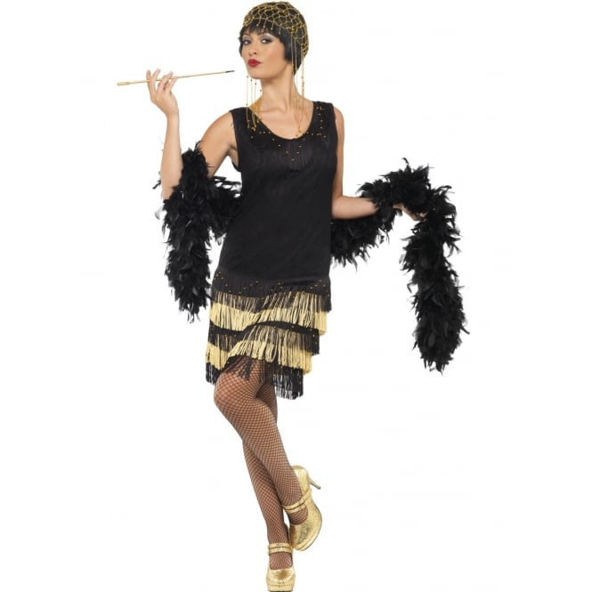 1920's Fringed Flapper - Adult Costume