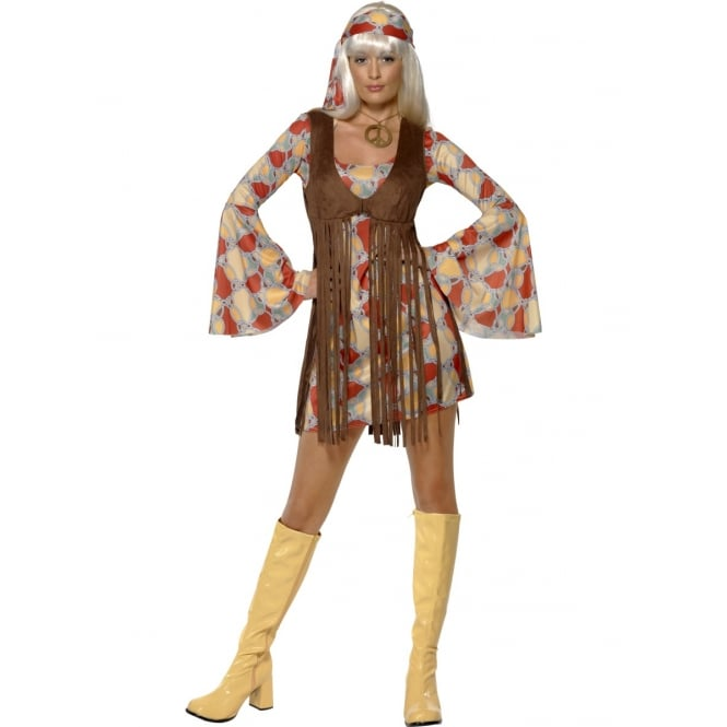 1960s Groovy Baby- Adult Costume