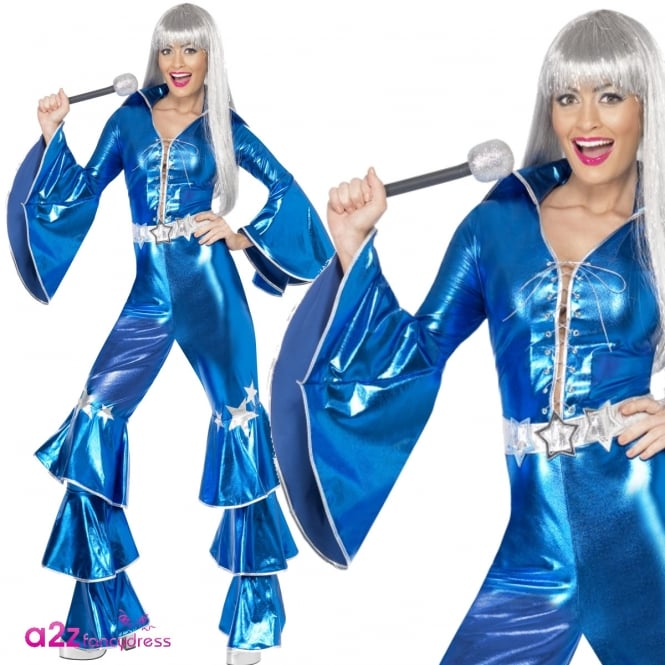 1970's Dancing Dream (Blue) - Adult Costume