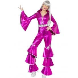 1970's Dancing Dream (Pink) - Adult Costume
