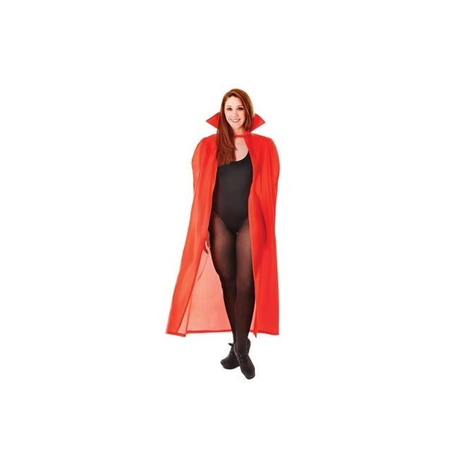"56"" Red Dracula Cape - Adult Accessory"