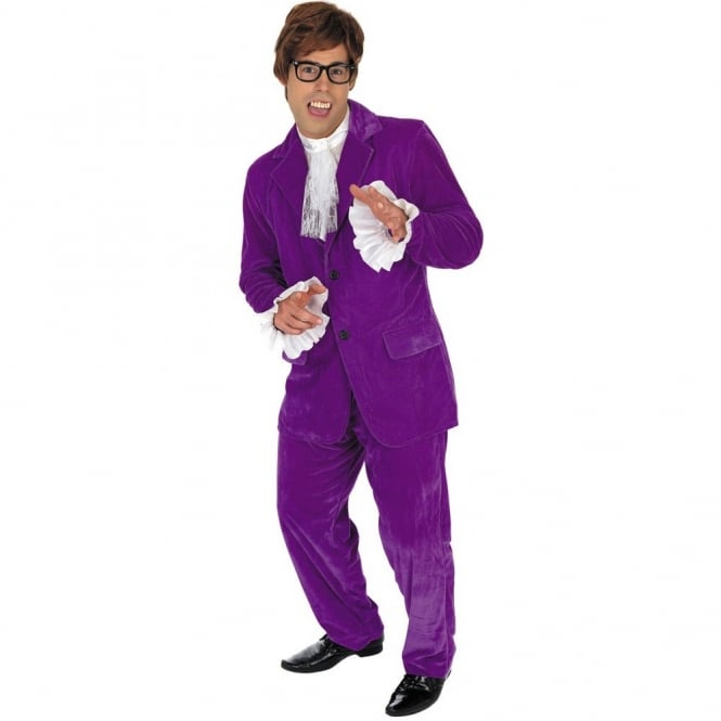 60'S Gigolo (Purple) - Adult Costume