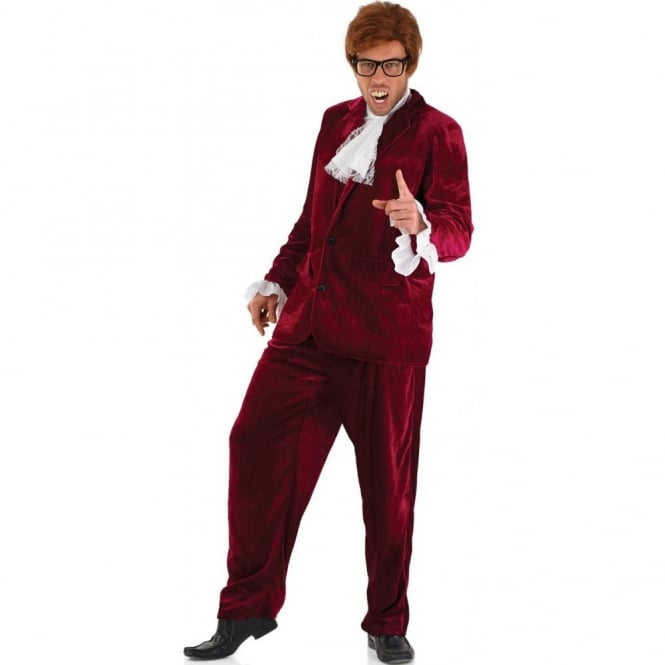 60's Gigolo (Red) - Adult Costume
