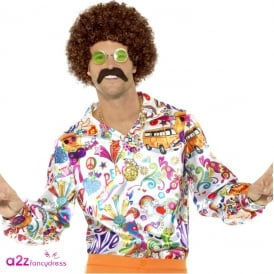 60s Groovy Shirt - Adult Costume