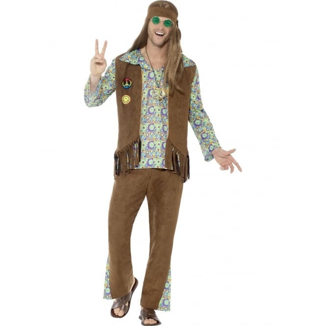 60's Hippie - Adult Mens Costume