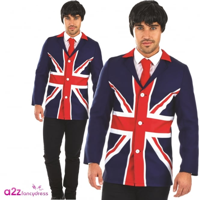 60's Mod Jacket - Adult Costume