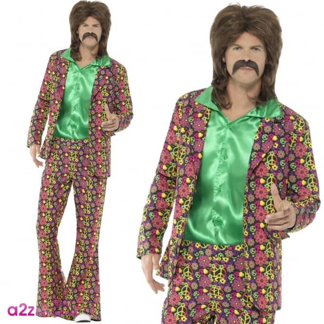 60's Psychedelic CND Suit - Adult Costume