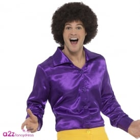 60's Shirt (Purple) - Adult Costume