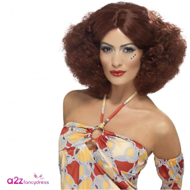 70's Afro Wig (Auburn) - Adult Accessory