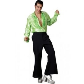 70's Flares (Black) - Adult Costume Accessory
