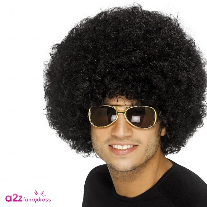 70s Funky Afro Wig - Adult Accessory