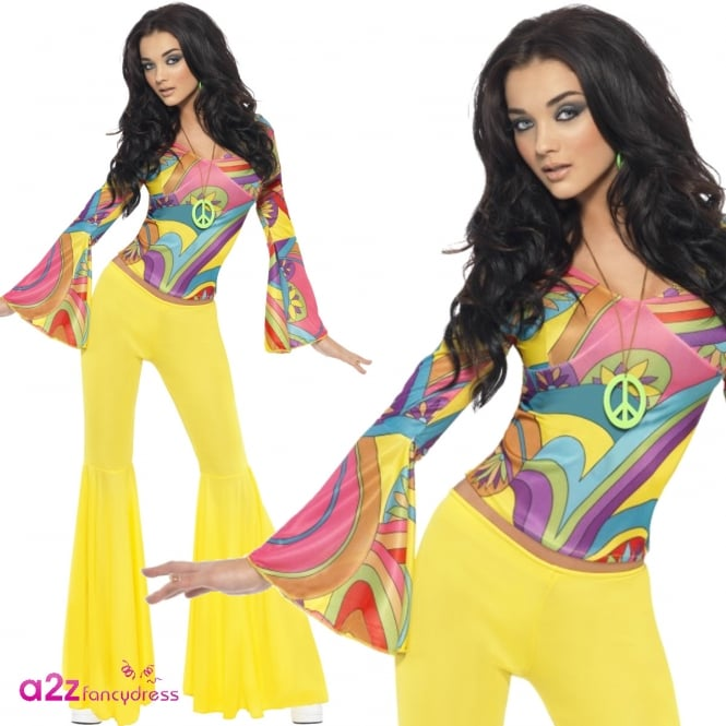 70s Groovy Babe - Adult Costume