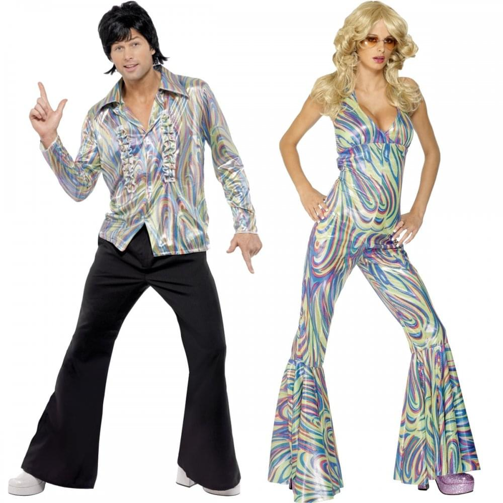 70s retro dancing queen couples costumes couples costumes from