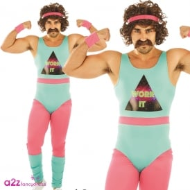 80's Fitness Instructor - Adult Costume