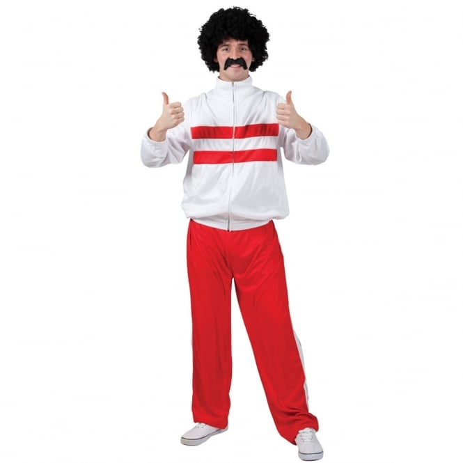 80's Funny Athlete Trackie - Adult Costume