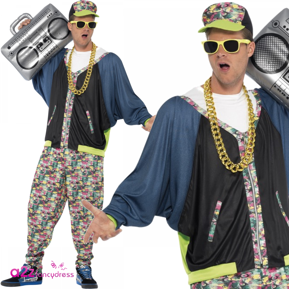 80s hip hop fashion 80 s hip hop adult costume