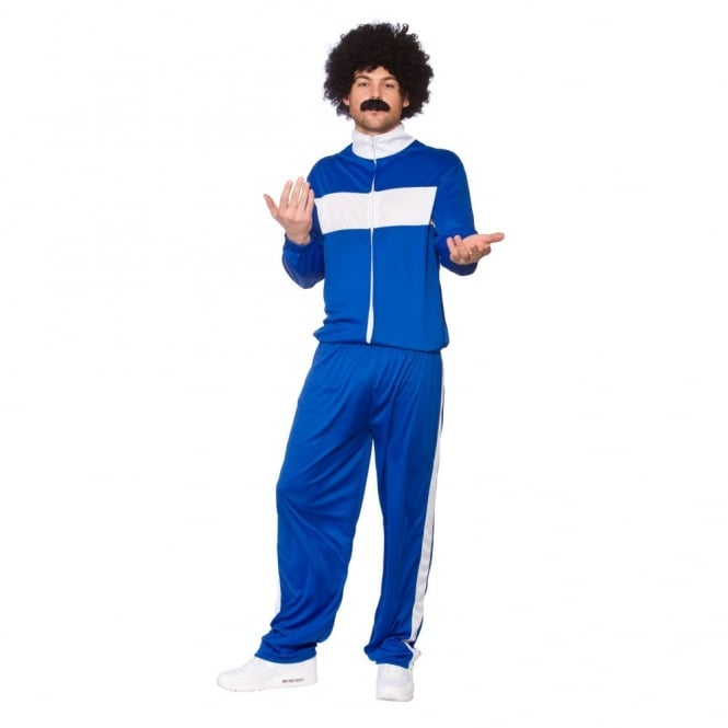80's Retro Trackie - Adult Costume