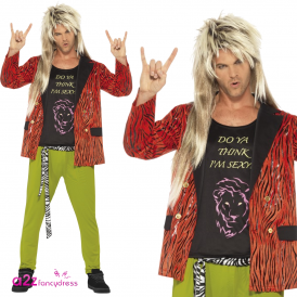 80's Rock Star - Adult Costume