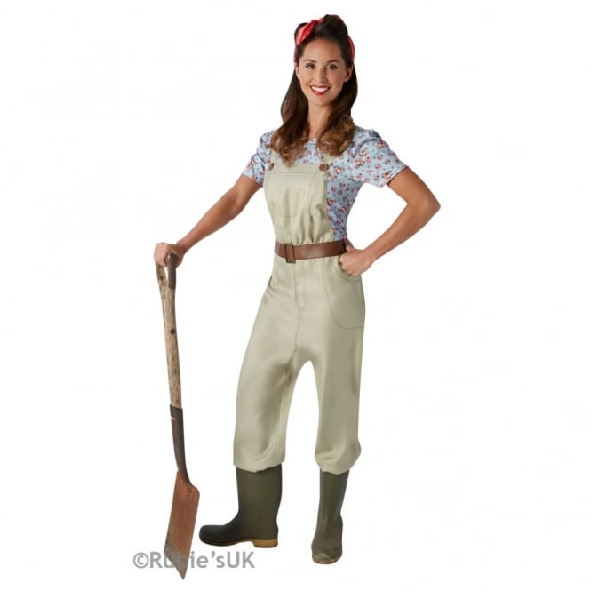 Adult Land Girl - Adult Costume
