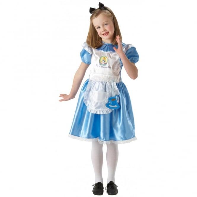 Alice In Wonderland Deluxe (Disney) - Kids Costume  sc 1 st  a2z Fancy Dress & ALICE IN WONDERLAND Alice In Wonderland Deluxe (Disney) - Kids Costume