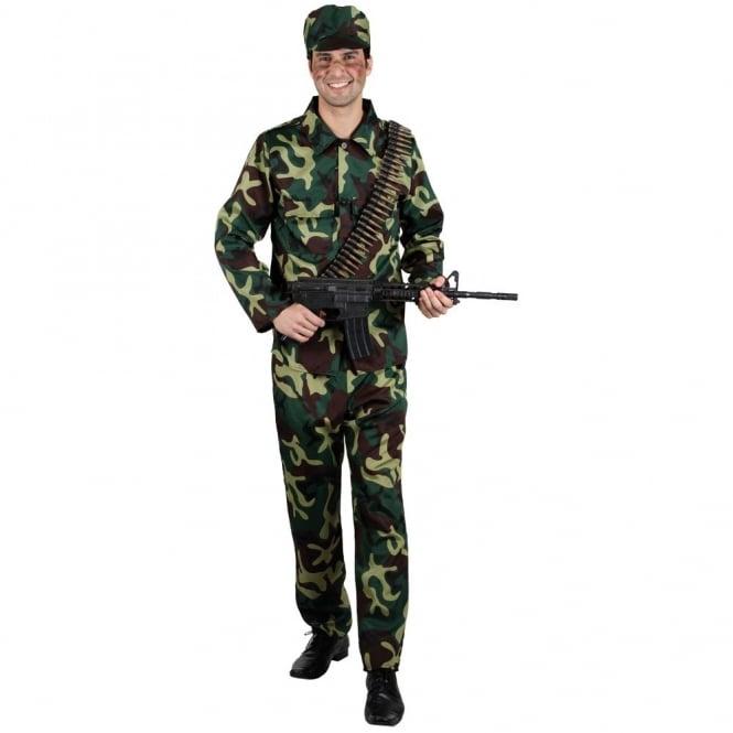 Army Soldier - Adult Costume