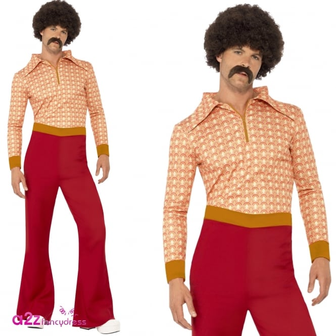 Authentic 70's Guy - Adult Costume