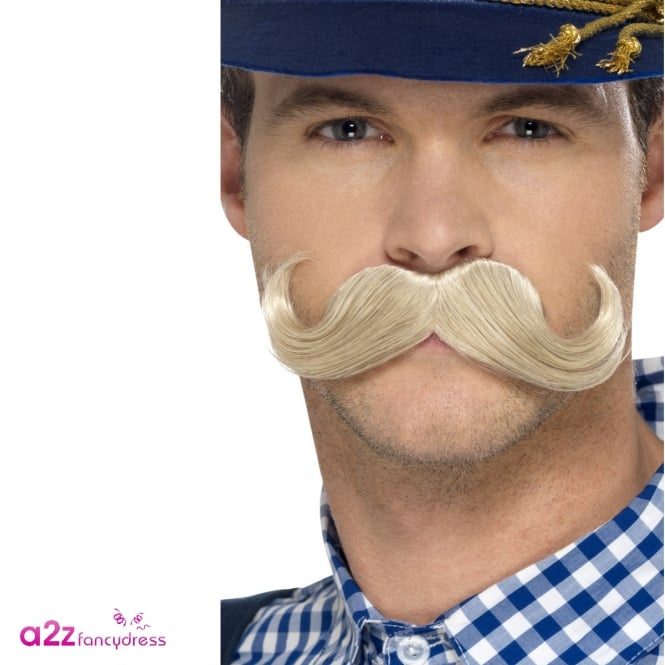 Authentic Bavarian Oktoberfest Moustache - Adult Accessory