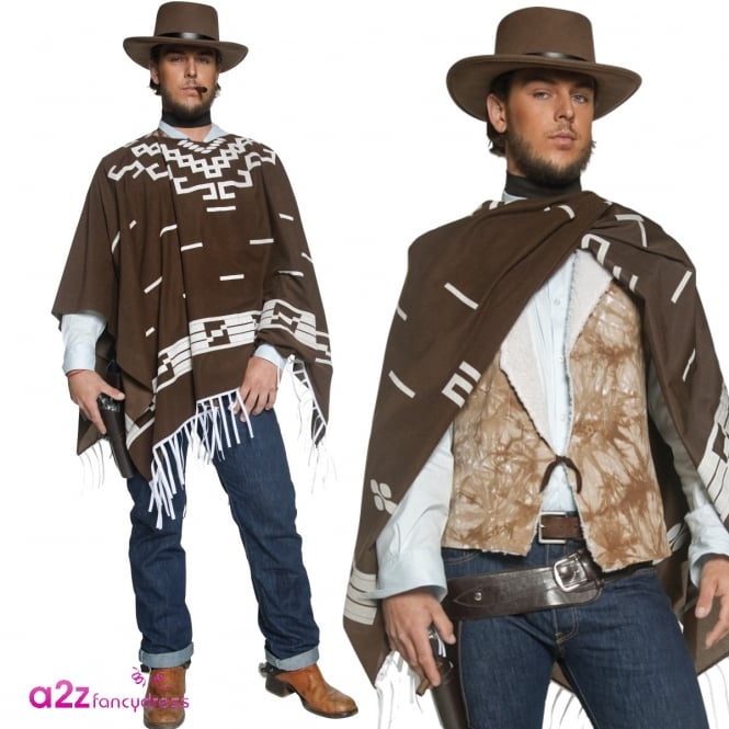 Authentic Western Wandering Gunman - Adult Costume