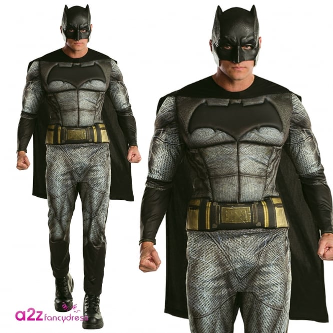 BATMAN V SUPERMAN Batman Deluxe ~ (Batman V Superman) Dawn of Justice - Adult Costume