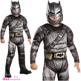 ~ Batman V Superman Dawn Of Justice ~ Deluxe Armoured Batman - Kids Costume