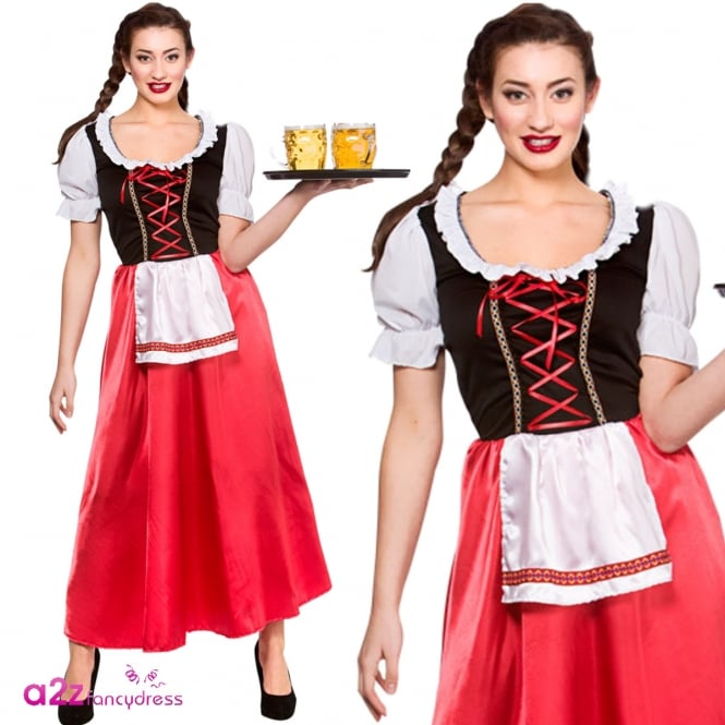 Bavarian Beer Wench - Adult Costume