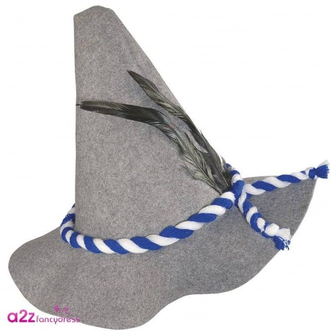 DELUXE BAVARIAN TRENKER FANCY DRESS HAT