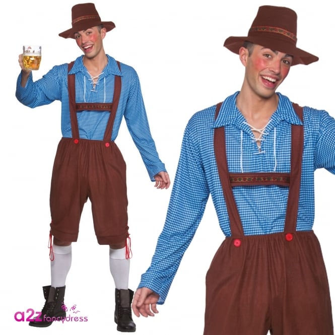 Bavarian Party Guy - Adult Costume