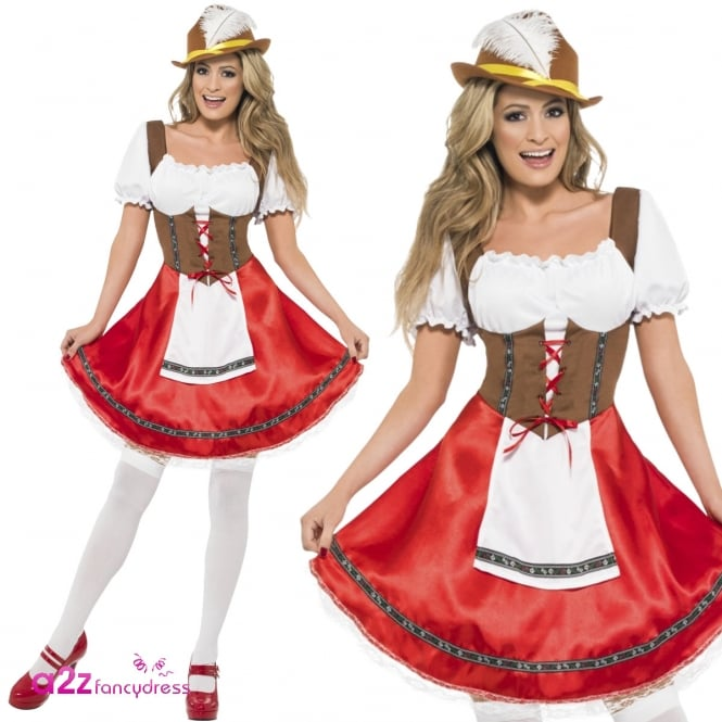 Bavarian Wench - Adult Costume