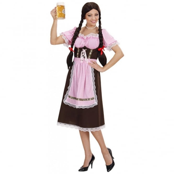 Bavarian Woman (Pink) - Adult Costume