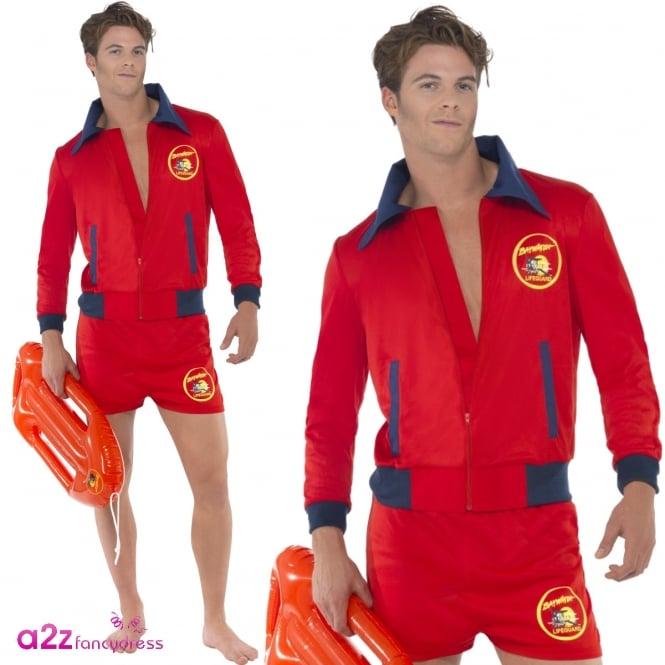 Baywatch Lifeguard - Adult Mens Costume
