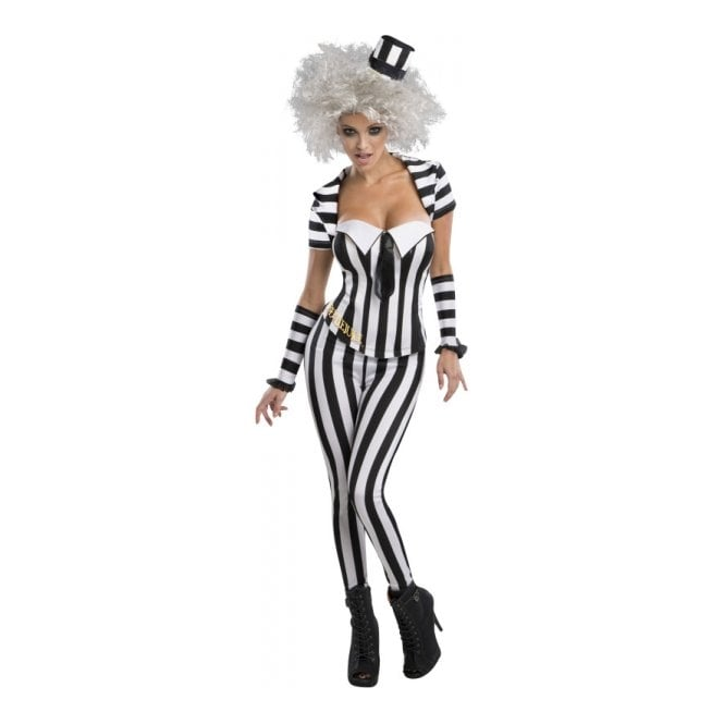 Beetlejuice Trouser Suit- Adult Ladies Costume