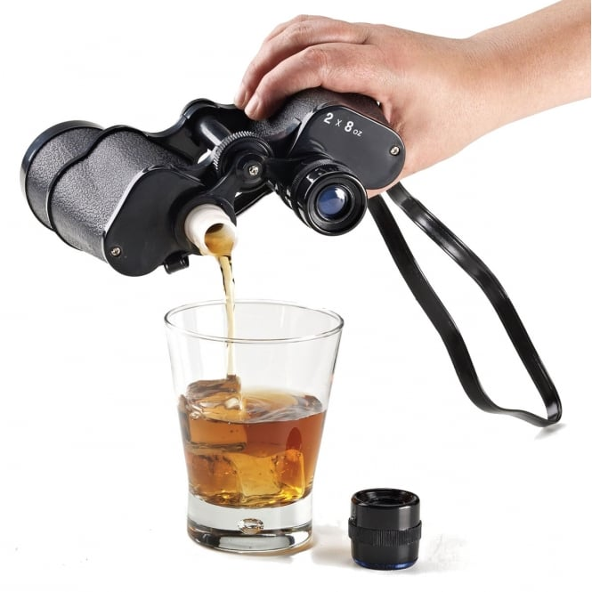 Binocular Drinks Flask (Smuggle Your Booze) - Accessory