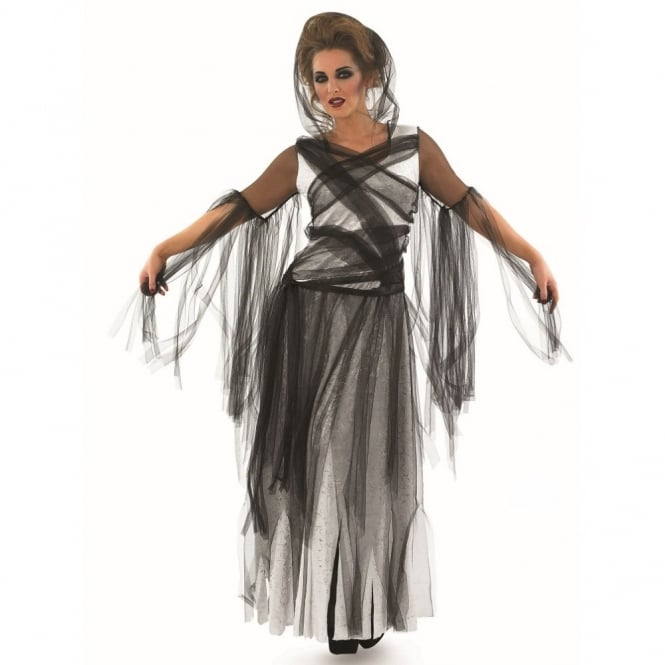 Black Haunting Ghost - Adult Costume