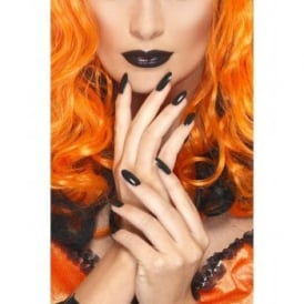Black Lipstick & Nail Polish - Accessory