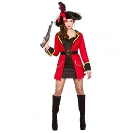 Blackheart Pirate - Adult Costume
