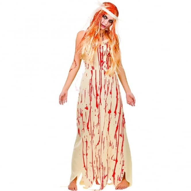 Blood Covered Bride - Adult Costume