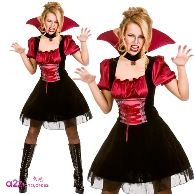 Bloodlust Vamp - Adult Costume