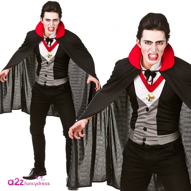 Bloodthirsty Vampire - Adult Costume