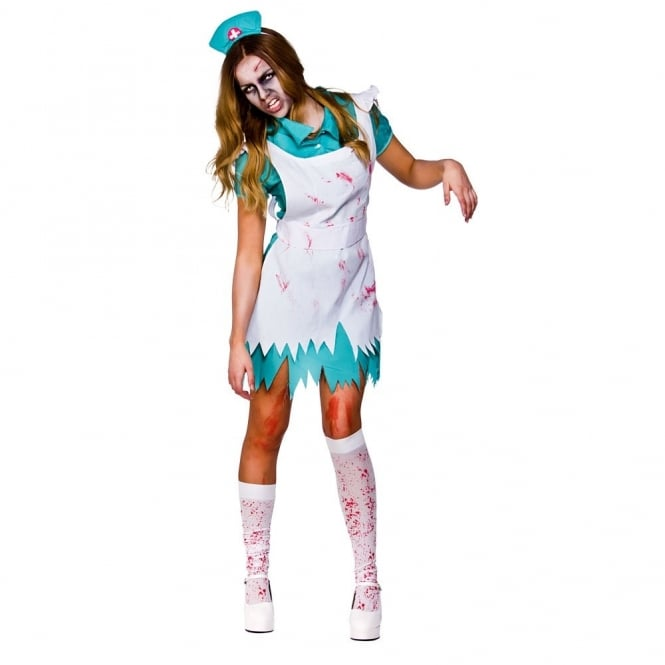 Bloodthirsty Zombie Nurse - Adult Costume