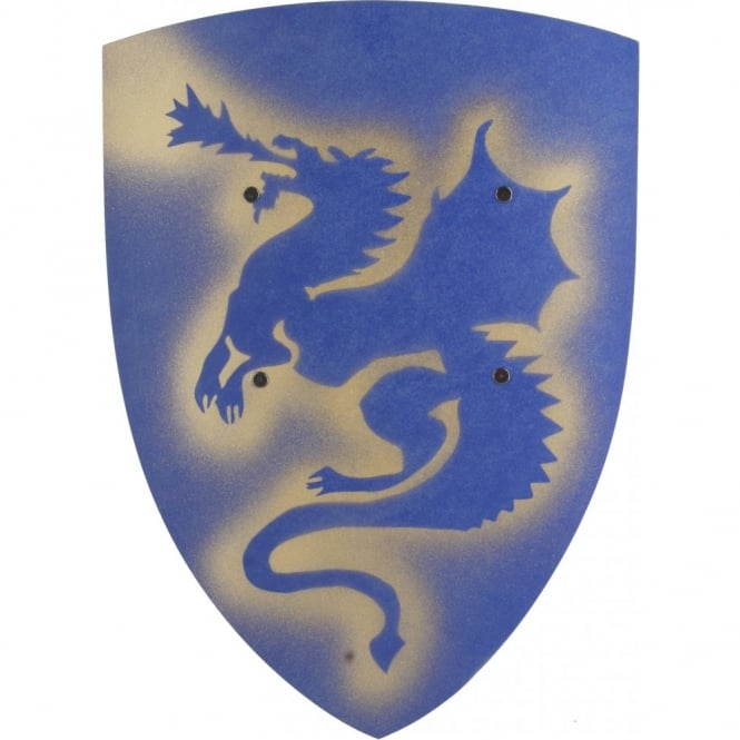 Blue Dragon Knight Shield - Kids Accessory