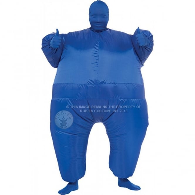 Blue Inflatable - Adult Costume