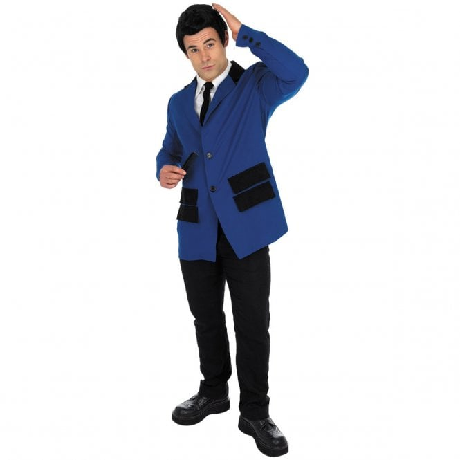 Blue Teddy Boy - Adult Costume