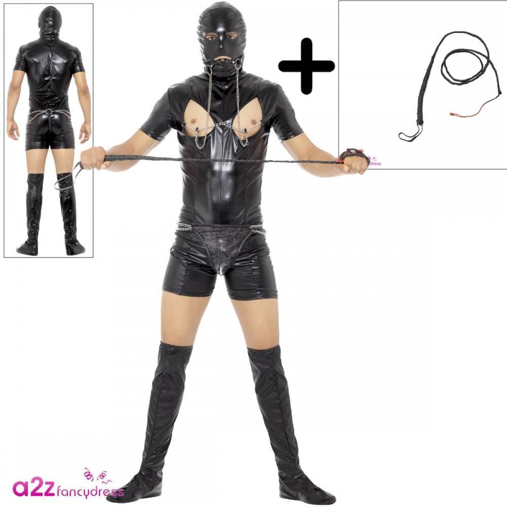 Erotic bondage restraints leather clothing fetish adult