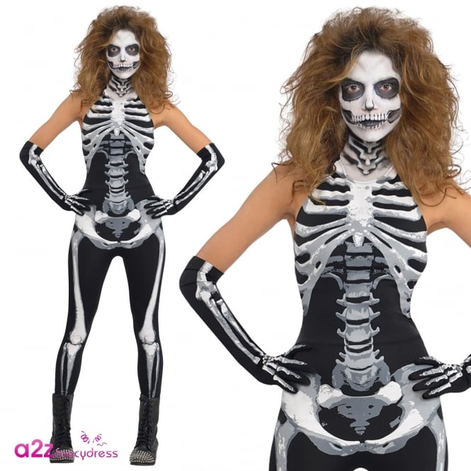 Bone-A-Fied Babe - Adult Costume